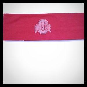 Pink Ohio State Buckeyes Athletic Headband NWT